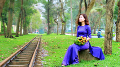 Beauty (khoitran1957) Tags: aodai woman girl fashion vietnam