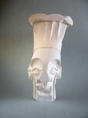 Chef (Rui.Roda) Tags: origami papiroflexia papierfalten mask face máscara masque chef cooker cozinheiro