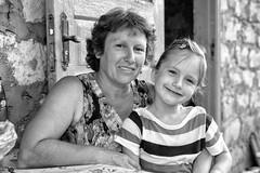 Galia and her mom (drugodragodiego) Tags: galia nadia portrait ritratto cìrpesti cantemir moldova people blackandwhite blackwhite bw biancoenero pentax pentaxk1 k1 pentaxdfa2470mmf28 hdpentaxdfa2470mmf28edsdmwr
