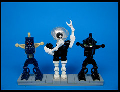 Oddbob and his fellow felons (Karf Oohlu) Tags: lego moc figure silly brickbuiltfigure