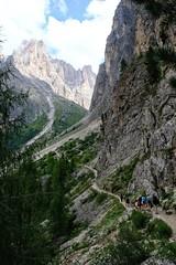 DSCF3594-01 (mfortini) Tags: mountains montagna valdifassa hiking trentino