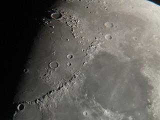Moon Through iPhone, August 19, 2018