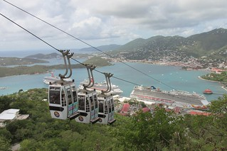 St. Thomas - Sky Ride to Paradise Point