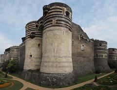 Château d'Angers (DaveKav) Tags: châteaudangers château chateau castle angers france loire