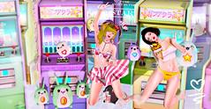 0758 (Luna X Takemitsu) Tags: axix ayashi the arcade gacha event gimme imaginarium nanika rare neomenia miwas yokai cmyk mainstore