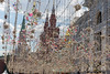 Nahaufnahme der Straßendekoration in Moskau (marcoverch) Tags: fusball fans deutschland fusballwm football wm2018 moskau russland2018 noperson keineperson winter travel reise old alt architecture diearchitektur outdoors drausen art kunst snow schnee traditional traditionell city stadt building gebäude christmas weihnachten tourism tourismus town dorf decoration dekoration wall mauer urban städtisch desktop color farbe design seascape child star flickr path bnw ice transport bench windows nahaufnahme strasendekoration