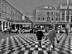"""Street_Geometry"" (giannipaoloziliani) Tags: flickr view architecture placemassena nikond3200 d3200 tram piazza nizza francia galerieslafayette place nikonphotography nikoncamera monochrome nikon monocromatico capturestreets capture geometry people urbanstreet urbanexplorer streetlife streetphotography biancoenero blackandwhite france europe nice"