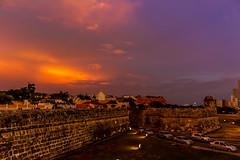 Cartagena (valentinaav7) Tags: cartagena colombia bolivar paisaje landscape cielo sky color beauty beautiful lindo ciudadamurallada wall anochecer puestadesol