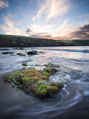 Low tide (Seanie2322) Tags: sunrise rock water color ireland beach sand ocean sky seaweed