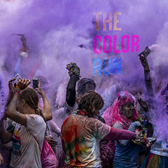 The year 2018 in Picture - 222. dag (Poul Helt) Tags: løb colorrun esbjergfestuge