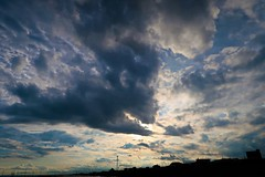 Eat The Sun (namhdyk) Tags: sky clouds hokkaido evening canon canonpowershot canonpowershotg7x