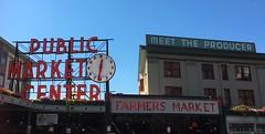 Seattle (mademoisellelapiquante) Tags: pacificnorthwest seattle washington pikeplacemarket seattlepublicmarket