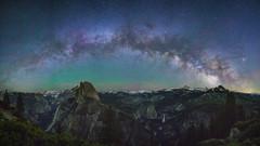 Milky Way Point (-D Arora Photography-) Tags: darksky glacierpoint milkyway yosemitenationalpark california unitedstates us