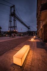 PUENTE COLGANTE, Bilbao (WilsonAxpe) Tags: bilbao elpuentecolgante nightphotography
