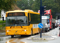 1st rainy day since May sees 2009 Volvo B7RLE 4074 route 183 (sms88aec) Tags: 2009 volvo b7rle 4074 route 183