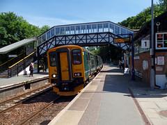 150221 & 150244 Bodmin Parkway (1) (Marky7890) Tags: gwr 150221 150244 class150 sprinter 2n04 bodminparkway railway cornwall cornishmainline train