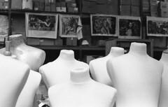 Stay abreast (Arne Kuilman) Tags: kosmofoto kosmofotomono iso100 contax zeiss 50mm 50mmf17 slr film homedeveloped pyrocathd 11minutes developed developer amsterdam netherlands nederland paspop paspoppen dolls