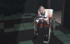 Asylum For the Feeling (Cloudsou) Tags: wheelchair cute kawaii dark creepy scary horror demon secondlife bandage avatars