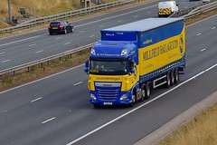 YY16 CCN (Martin's Online Photography) Tags: dad xf truck wagon lorry vehicle commercial transport a1m nikon nikond7200