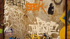 Spek & Pzor... (colourourcity) Tags: streetart streetartaustralia streetartnow streetartmelbourne graffiti graffitimelbourne melbourne burncity colourourcity colourourcitymelbourne fun notserious nohaters spek pzor peezer btm afp ac tags handstyles snm