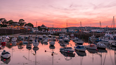 Paignton Harbour at Sunset (simondayuk) Tags: paignton devon torbay harbour harbor boat boats sailing sails yacht marina sunset coast coastal seascape landscape reflection reflections nikon d500 nikond500 sea ocean water lights