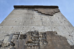 Abandoned No.26 (RisoLiquore) Tags: abandoned japan nikon d7000 ruin iwate hachimantai matsuo mine autumn architecture building blue wall gray concrete