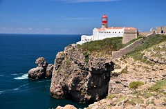 Cabo de São Vicente (tonyfernandezz) Tags: portugal cliff ocean seastacks coast lighthouse algarve