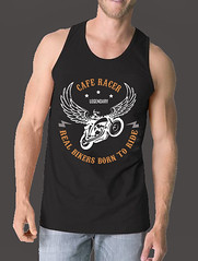 CAFE RACER - LEGENDARY RIDERS (Jazy K) Tags: calm down just ride cafe racer teespring tshirt born