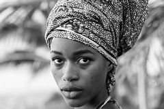 Portraits of Senegal in Black & White (Geraint Rowland Photography) Tags: africanrenaissancemonument senegal africanwomen africanwoman woman model africanmodel modelsinsenegal blackandwhite headshot portraits canon dakar modelsindakar beauty beautiful senegalstyle senegalfashion africanfashion bokeh depthoffield naturallightportraits wwwgeraintrowlandcouk headscarf islam muslimwomen muslimwomenofafrica geraintrowlandphotography photosofafrica black white