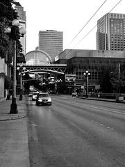 City life (Axle Zhang) Tags: blackandwhite blackwhite bnw leica streetphotography street city life seattle