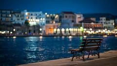 Blue Hour Bokeh (Bastian.K) Tags: kreta crete kretanisch griechisch greek griechenland greece greco hellas iraklio heraklion bokeh sony fe 85mm 14 gm