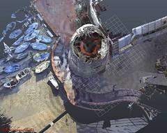 Torre Laigueglia1223r_rid (3DeFFe) Tags: 3deffe droni sapr enac laserscanner bim strutture sfm architettura rilievo 3d render foto video fotogrammetria ndvi