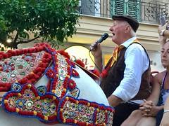 Bagheria: il canto di un carrettiere (costagar51) Tags: bagheria palermo sicilia sicily italia italy storia tradizioni folklore anticando