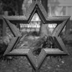 Iron Fence detail (johngoucher) Tags: approved starofdavid annapolis blackandwhite bnw bw iron star fence ironfence fencing detail academybedbreakfast bedbreakfast maryland annearundelcounty inn sonyimages sonyalpha shape closeup