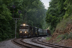 16T - Twin Falls (Eric_Freas) Tags: norfolk southern ns shenandoah valley line twin falls virginia nw color position light cpl