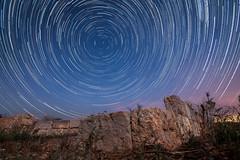 Startrails Mallorca (neisi.photography) Tags: sternschnuppen nightphotography nachtfotografie sternspuren mallorca polarstern startrails