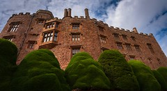 Castle (Phil-Gregory) Tags: castle powiscastle wales tree wall panorama green red brick nationaltrust sigma18250macro nikon d7200
