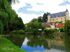 Montrésor (Alicia B,) Tags: france rio montrésor europa europe castillo river riviére