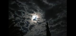 Sky over island Brač
