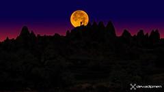moonlight time in anatolia  / 1608180433 (devadipmen) Tags: kapadokya landscapephotographer landscapephotography moon moonlight naturephotographer naturephotography nevşehir türkiye ürgüp istanbul