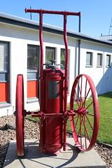 Phomene Chemical Extinguisher (ambodavenz) Tags: phomene fire leeston canterbury pyrene newzealand chemicalextinguisher fireengine wheeledextinguisher