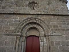 P6221077 (simonrwilkinson) Tags: sober lugo galicia spain church romanesque exterior sanvicentedepinol oculus