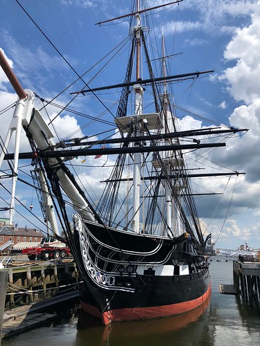 Bow of USS Constitution, Boston MA