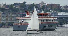 near miss (iiii_y) Tags: boats