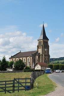 Marmagne (71) : église Saint-Martin