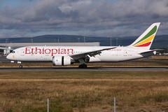 Ethiopian ET-ASI, OSL ENGM Gardermoen (Inger Bjørndal Foss) Tags: etasi ethiopian boeing 787 dreamliner osl engm gardermoen