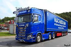 """Scania S NegtGen """" MARC PANZER """" (D) (magicv8m) Tags: scania s negtgen marcpanzer d tir trans transport lkw geiselwind 2018 camion"""