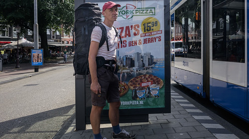 Amsterdam, Bags, By Myself, Center, Hat, Netherlands, Street