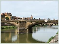 I ponti sopra l'Arno (Domenico T) Tags: water cityscape arno river bridge
