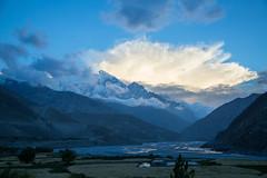 Sunset behind Nilgiri (No Barriers USA) Tags: kagbeni westerndevelopmentregion nepal